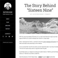 Sixteen Nine Pro Theme