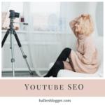 Youtube SEO Girl and Video Camera