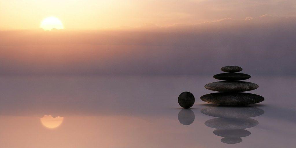 balance, stones, stack