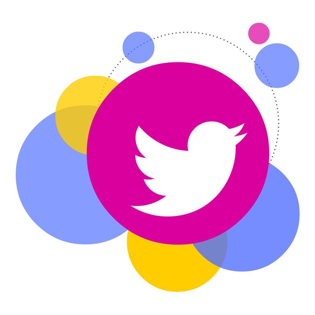 bubbles, icon, twitter