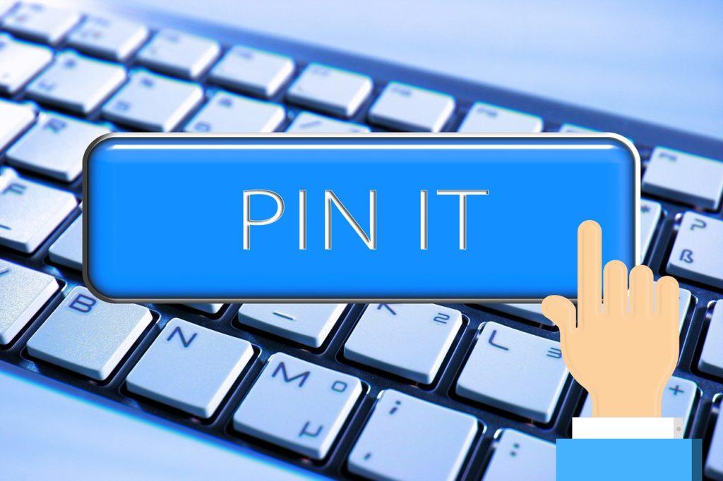 keyboard, hand, pin