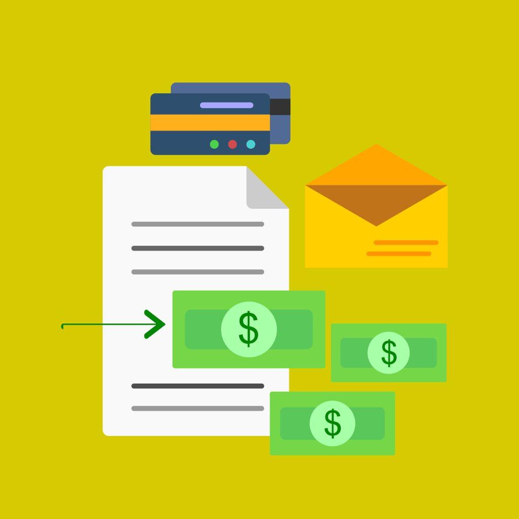 money, folder, accounting